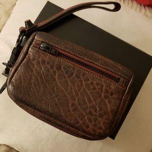 Alexander Wang Fumo Wallet in Raisin